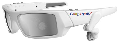 Google goggles GPS touring and advertising options