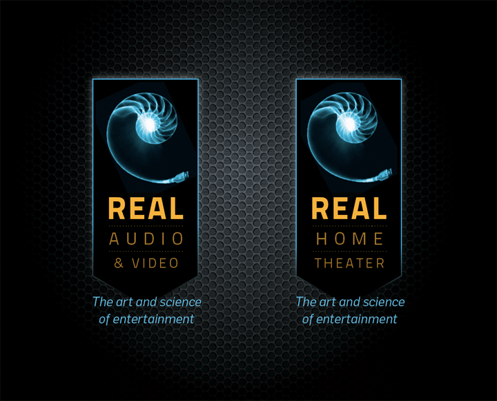 logo design for Real Audio